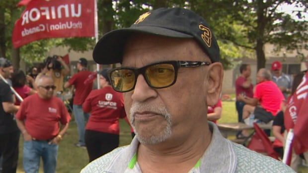 Northstar Aerospace retiree Naresh Ajmani fears he's going to get a reduced pension, as the company shutters its plant in Milton, Ont.