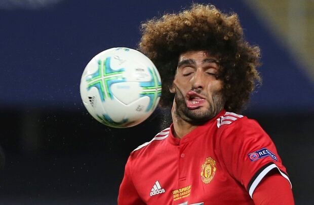 Manchester United Marouane Fellaini Macedonia Super Cup Soccer