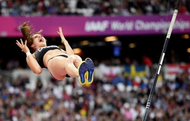 World Athletics Anicka Newell Women's Pole Vault Final