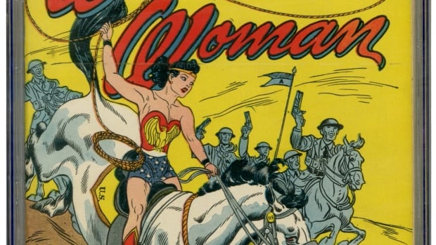 Wonder Woman #1, from July 1942, was the first comic book named after a female superhero and will soon be auctioned off on eBay.