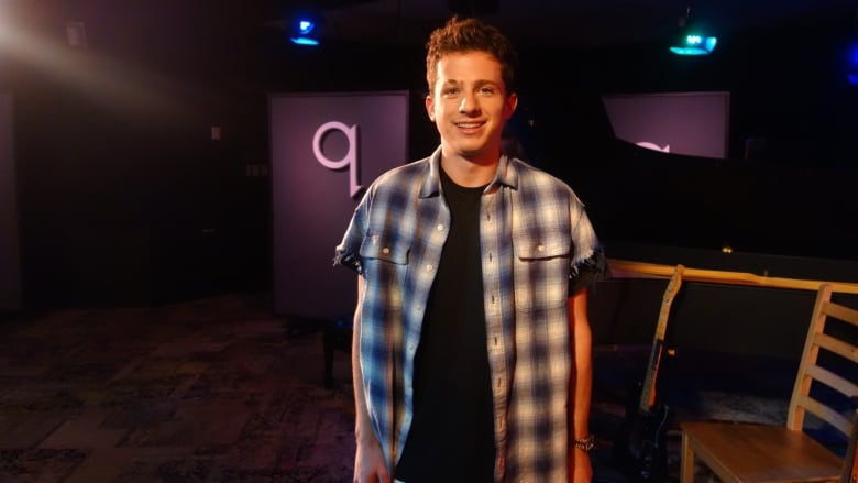 Charlie Puth learned to sing through Auto-Tune and he's not