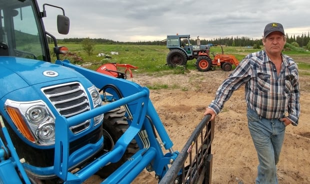 Angiers Tractor