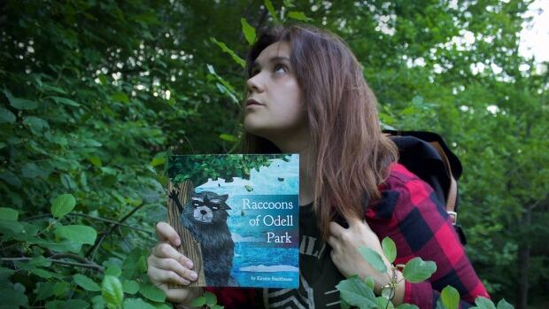 Kirsten Stackhouse started creating stories about raccoons when she had to spend time in the bushes of Odell Park in Fredericton.