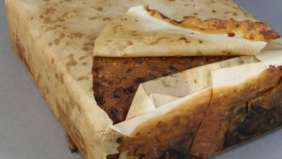 """Antarctic Heritage Trust says the cake itself """"looked and smelt (almost) edible."""""""