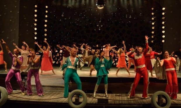 Rainbow Stage Mamma Mia finale
