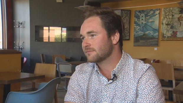 Adam O'Brien, owner of Bitcoin Solutions, says he's seen a spike interest in bitcoin since the currency's value skyrocketed.