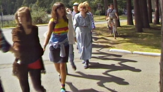 A few dozen people held hands and walked around Stanley Park to mark the Harmonic Convergence of 1987.