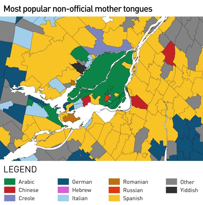 Maps tell story of Montreal\'s changing linguistic landscape ...