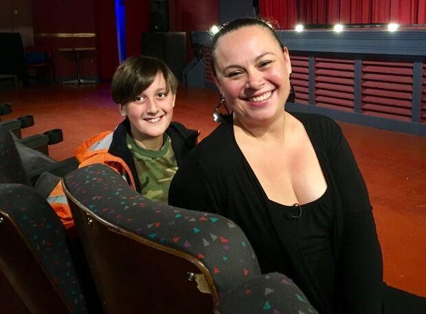 Sasha and Christine Frederick