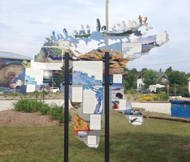 Stories of the Lake art installation