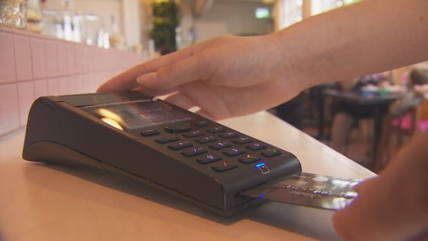 The Green Wood in Leslieville is one of an increasing number of restaurants going cash free and more customers are paying electronically.