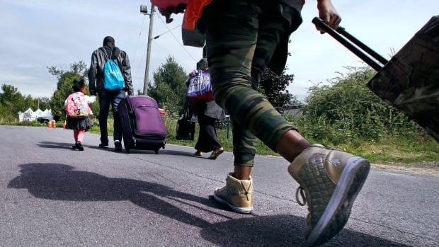 Many of the asylum seekers crossing the U.S.-Canada border in Quebec are expected to make their way to Toronto and southern Ontario.