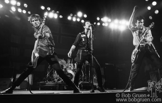 ONE TIME USE ONLY Bob Gruen The Clash