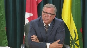 Brad Wall announces his retirement from politics Aug. 10, 2017