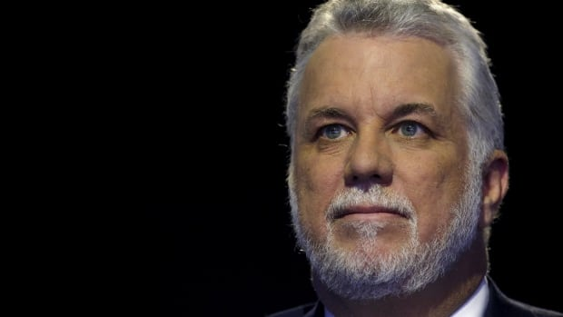 Quebec Premier Philippe Couillard says the firebombing 'clearly represented hate and also violence.'