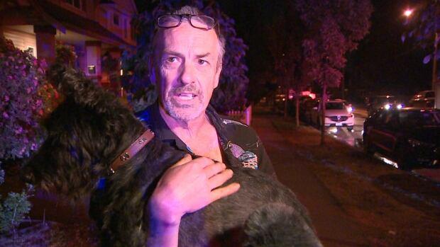 SURREY RV FIRE WITNESS JOHN BORTHWICK