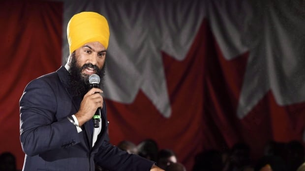 Ontario deputy NDP leader Jagmeet Singh launches his bid for the federal NDP leadership in Brampton, Ont., on May 15, 2017. New Democrat MPs in the House of Commons could be without a permanent leader on Parliament Hill until after the federal election in 2019 if Singh takes over at the party's helm.