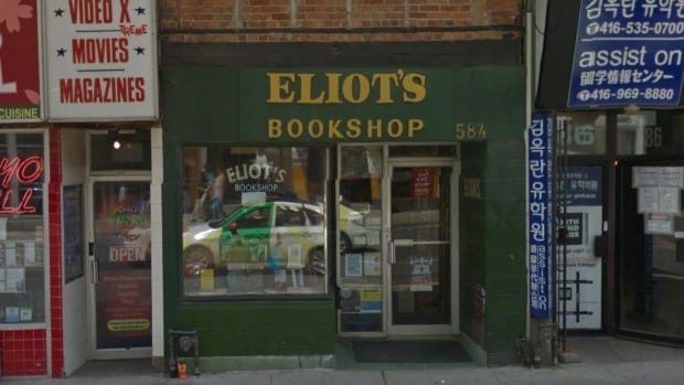 Independent bookstore Eliot's Bookshop may soon close for good after 22 years at Yonge and Wellesley streets because of rising property taxes.