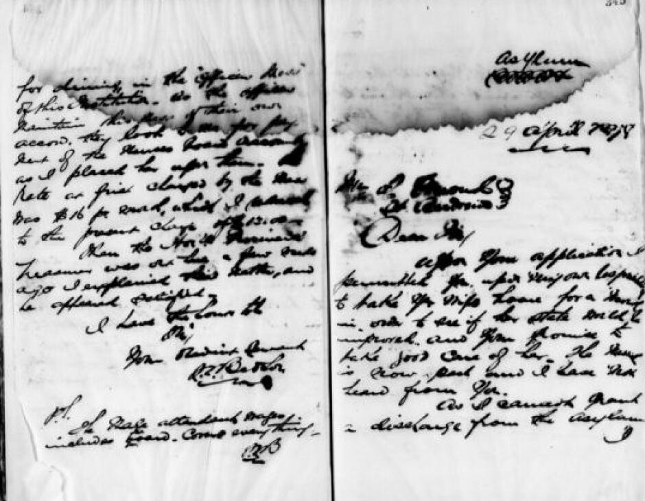 Warden's Letterbooks
