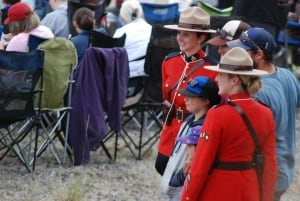 RCMP pose for photo