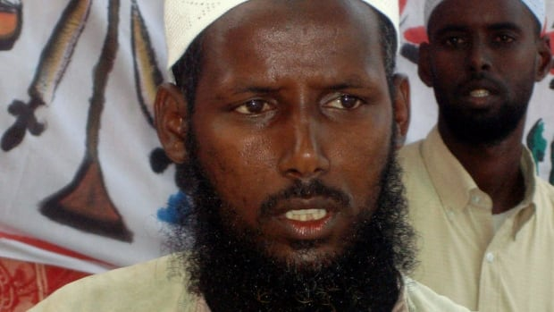 Sheikh Mukhtar Robow, seen here in 2006, was a senior commander for Islamist militants in Somalia.
