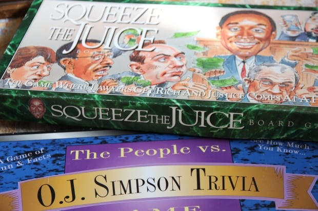 O.J. Simpson trial paraphernalia