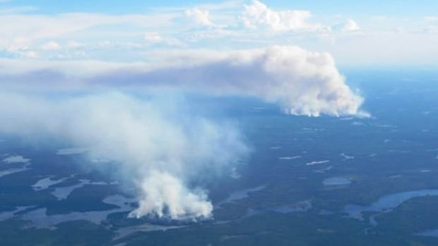 "The situation in Nibinamik has ""stabilized"" to the point where residents can return to the community, according to Ontario wildfire officials."