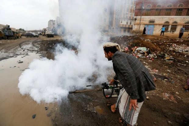 YEMEN-CHOLERA/SANITATION