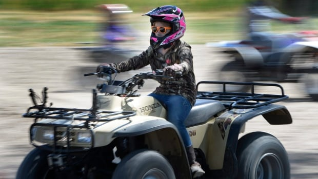 One of the conditions for ATV riders between six and 13 in Nova Scotia is that they do so on a closed course, but there aren't any in the province.