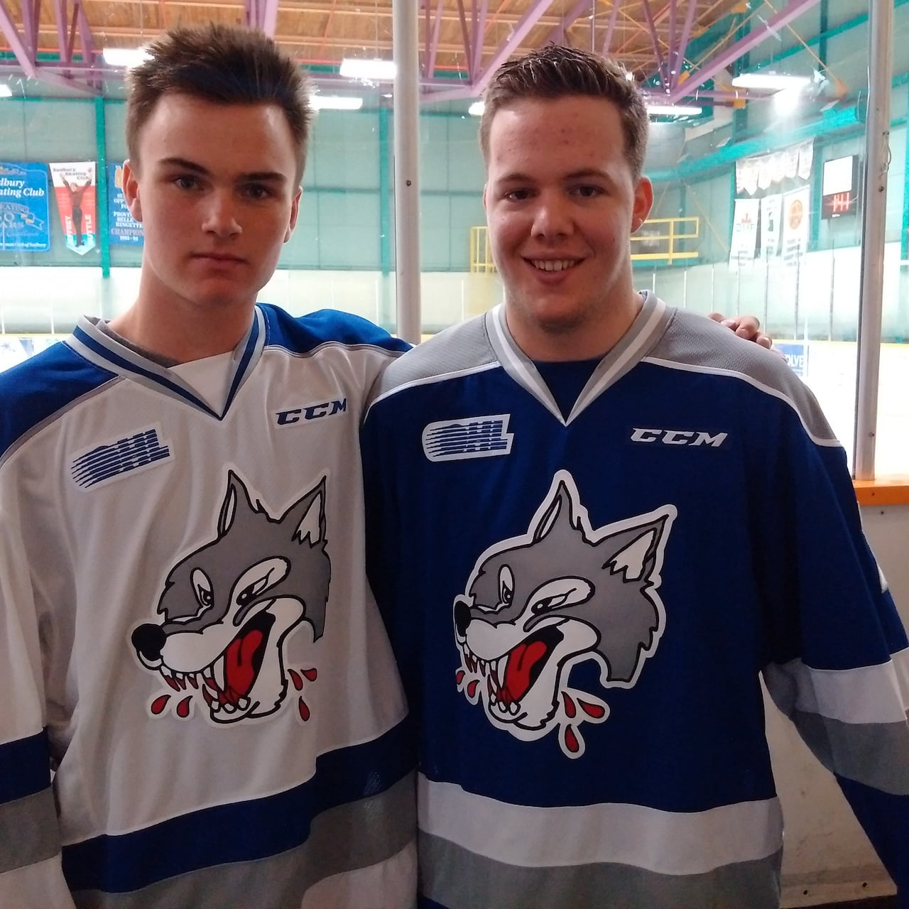 b1066528508 New Sudbury Wolves jerseys 'an echo' of the past | CBC News