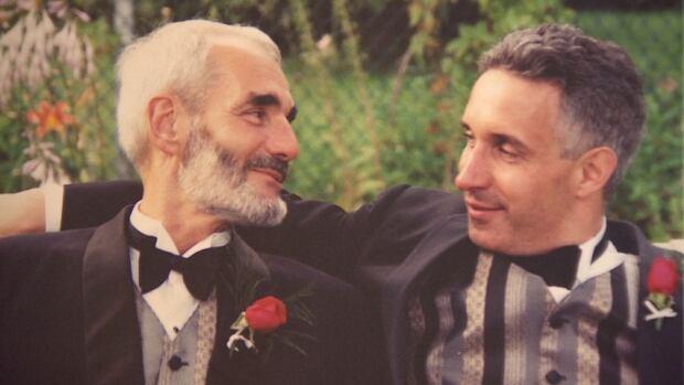 Jim Crooks, Carl Trickey, same-sex union
