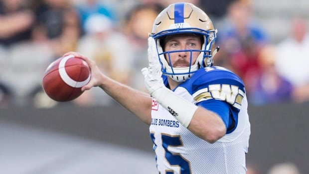 With help from the running game, Winnipeg quarterback Matt Nichols had a big night against Hamilton, but a tougher test awaits in the 7-0 Eskimos.