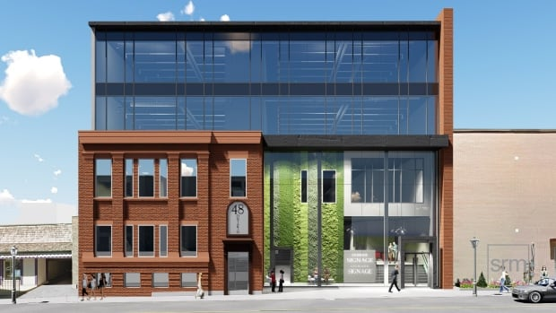 Voisin Capital's proposed concept for the former legion building in downtown Kitchener. Voisin Capital purchased the building for $1.55 million after it ranked highest in the competitive bid process for the sale of the building.