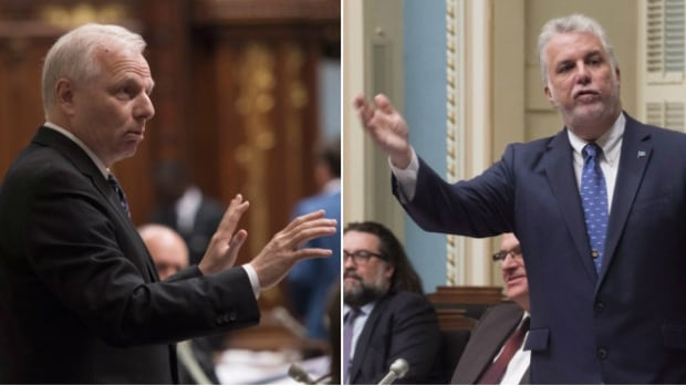 Parti Québécois leader Jean-François Lisée and Quebec Premier Philippe Couillard are embroiled in a war of words concerning the province's response to the wave of asylum seekers crossing illegally into Quebec in recent weeks.