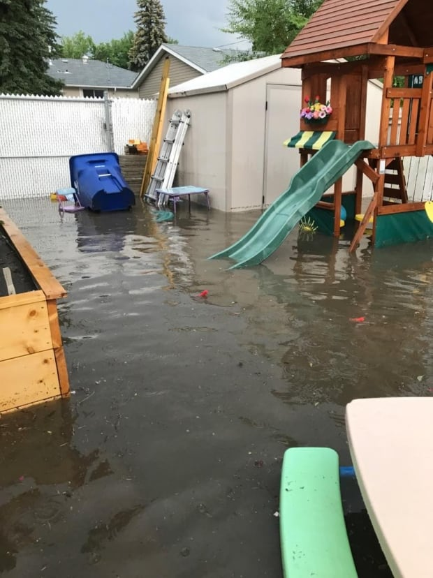 Saskatoon homeowners fed up with storm flooding want for Backyard flooding solutions