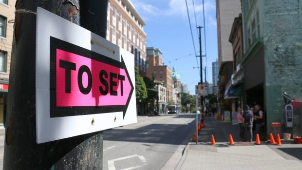 Signs like these, directing film and video crews to sets, are a common sight in Metro Vancouver. In Maple Ridge, motion picture production is booming.