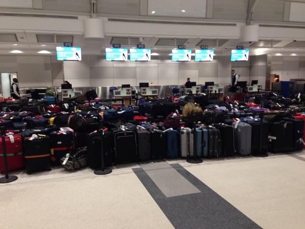 Baggage pileup