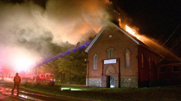 Ontario Fire Marshal investigating Burlington church fire