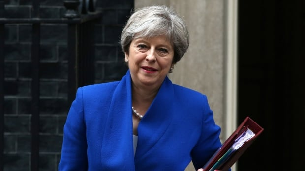 Britain's Prime Minister Theresa May hopes the series of papers released this week will help push forward talks with the EU on the idea of a customs border.