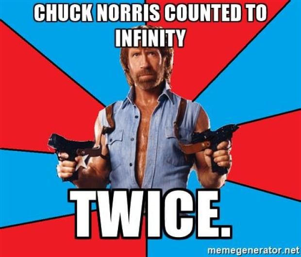Chuck Norris infinity