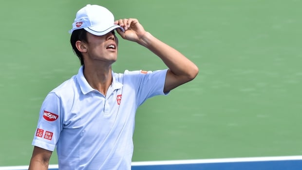 "Kei Nishikori has withdrawn from the U.S. Open after hearing a ""pop"" in his wrist during a practice session this week."