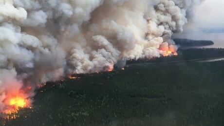 Nibinamik area fire