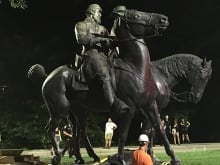 Baltimore Coun. Brandon Scott says removing the city's Confederate statues quietly overnight was the best way to avoid violence.