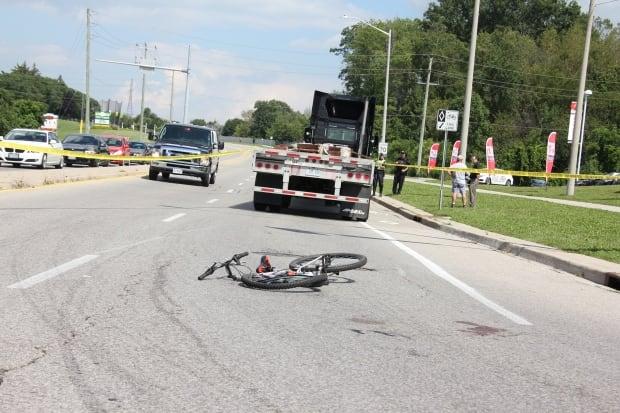 bike collision cambridge