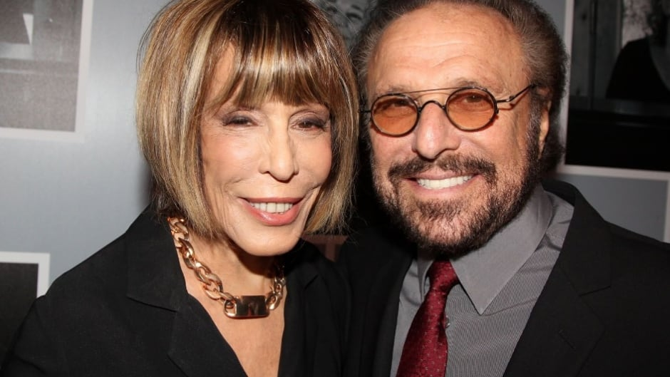 Songwriters Barry Mann and Cynthia Weil