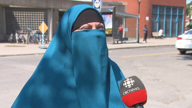 Warda Naili said she doesn't mind uncovering her face for identification purposes but feels targeted by Bill 62.