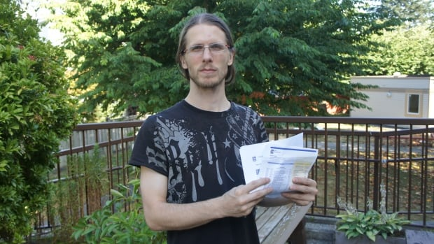 Sheldon Irving says three RBC Visa cheques he wrote have been charged to his account twice, leaving him in debt.