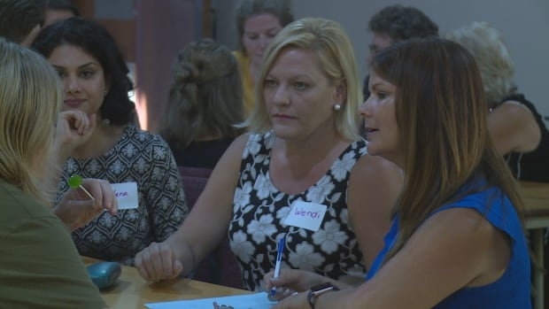 At an event Wednesday evening, people discussed the 2018 municipal elections.