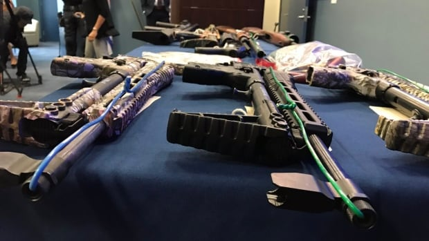 Vancouver police say they've seized eight guns and more than two kilograms of drugs following a five-month investigation.