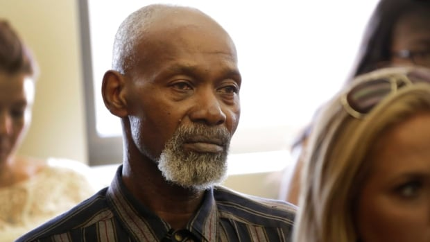 Edward Carter was accused of sexually assaulting a person in a bathroom stall on Wayne State University campus and convicted in 1975. He got out when fingerprints from the scene showed another person was responsible. Carter will receive $1.7 million for spending 35 years in prison for a crime he didn't commit during the first hearings to review claims under the new Wrongful Imprisonment Compensation Act that were held Wednesday, Aug. 16, 2017 in Chief Judge Michael Talbot's courtroom in Cadillac Place in Detroit.